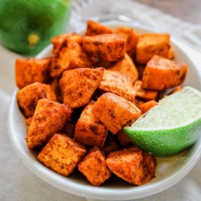 Mexican Air Fryer Sweet Potatoes
