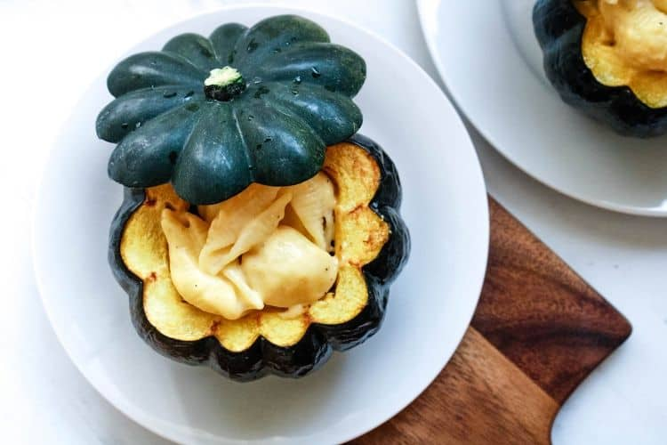 Mac and Cheese Acorn Squash