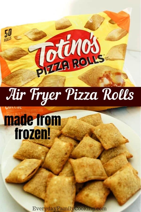 Air Fryer Totino's Frozen Pizza Rolls