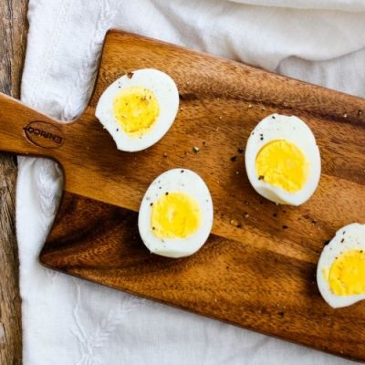 Air Fryer Hard-Boiled Eggs