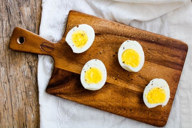 Hard-Boiled Air Fried Eggs