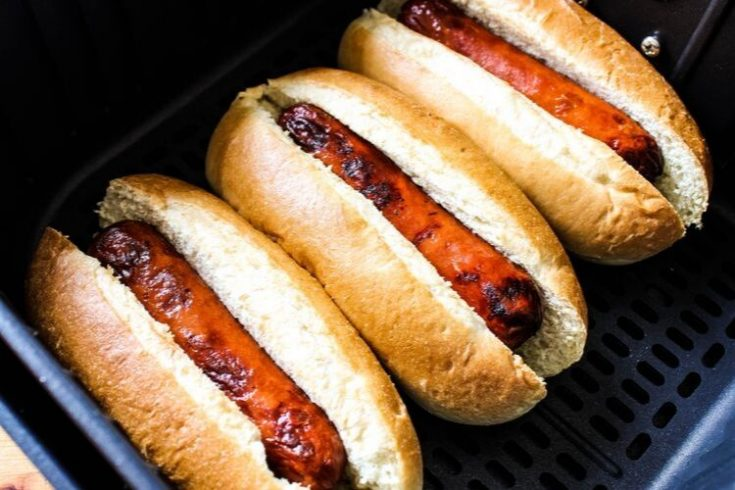Easy Air Fryer Hot Dogs How To Cook