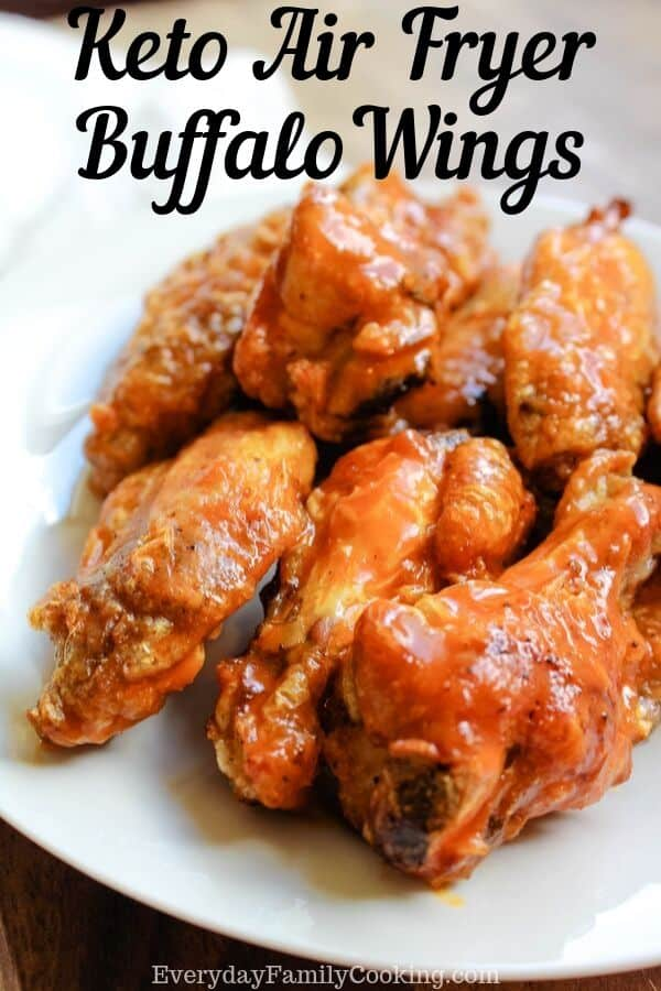 Keto Air Fryer Buffalo Wings
