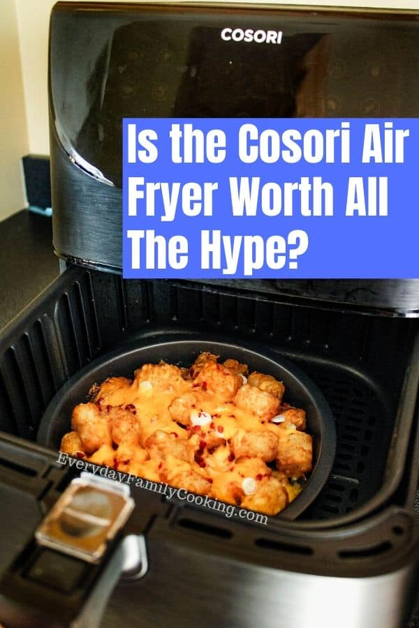 Cosori Air Fryer in Use
