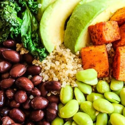 Chili Lime Sweet Potato Buddha Bowl