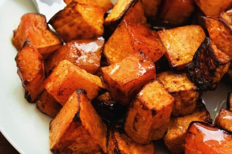 Honey Cinnamon Butternut Squash