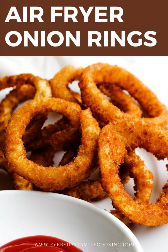 Frozen Air Fryer Onion Rings