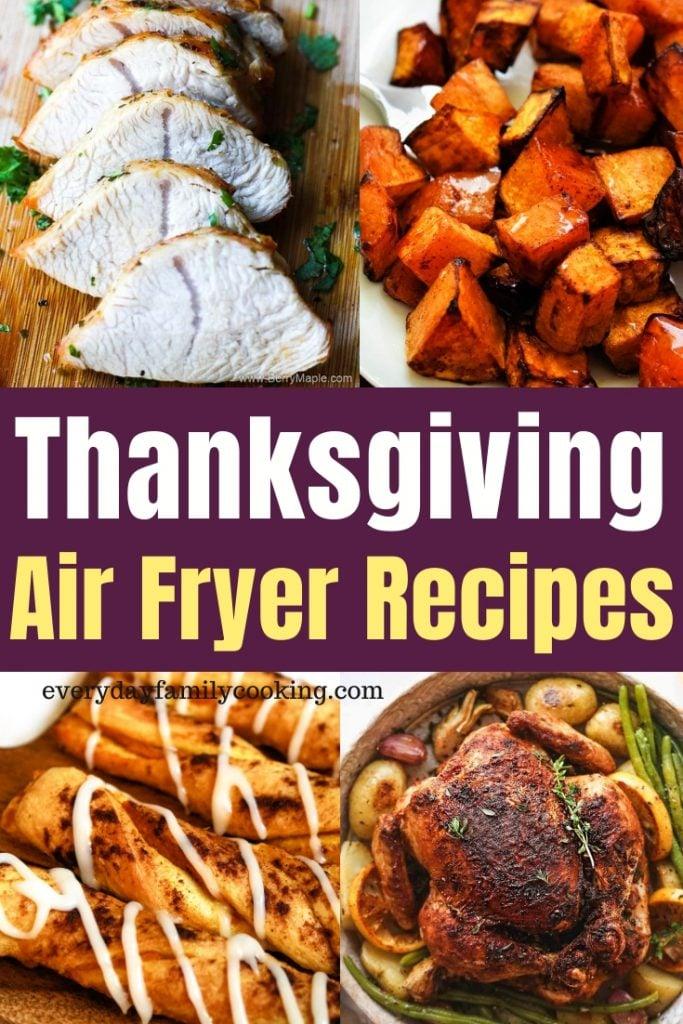 Thanksgiving Air Fryer Recipes