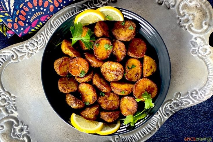 Air Fryer Spicy Bombay Potatoes