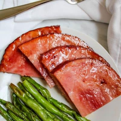 Air Fryer Ham Steaks