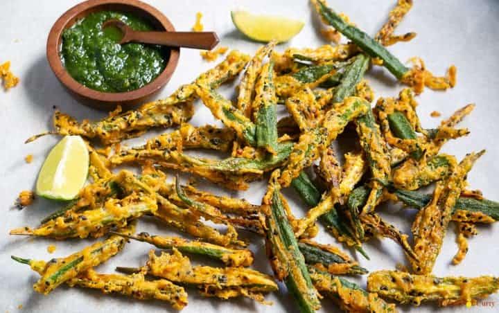 Kurkuri Bhindi   Crispy Fried Okra