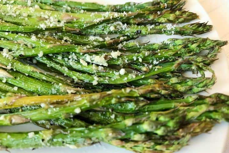 Closeup of Asparagus
