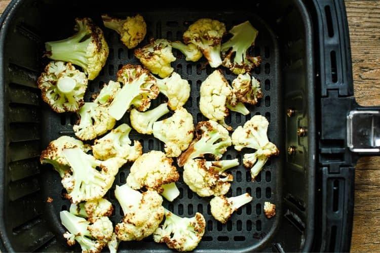Cooked Cauliflower in Air Fryer