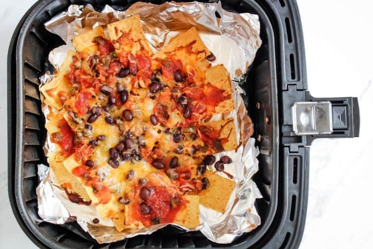 Nachos in Air Fryer