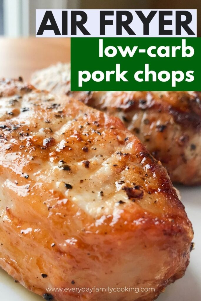 Air Fryer Pork Chops with Salt and Pepper