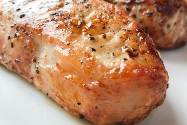 Closeup of Pork Chops