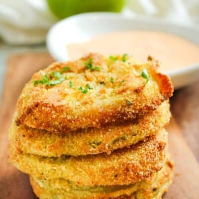 The Best Air Fryer Green Tomatoes Recipe