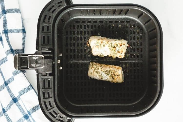 Cod in the air fryer