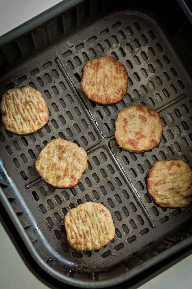 Sausage Patties in an Air Fryer