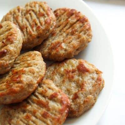 Sausage Patties in the Air Fryer