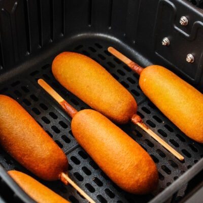 Air Fryer Corn Dogs