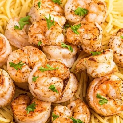 Air Fryer Shrimp with Lemon and Pepper