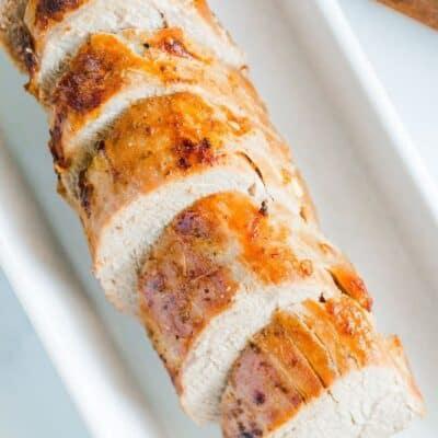 Marinated Pork Tenderloin in the Air Fryer