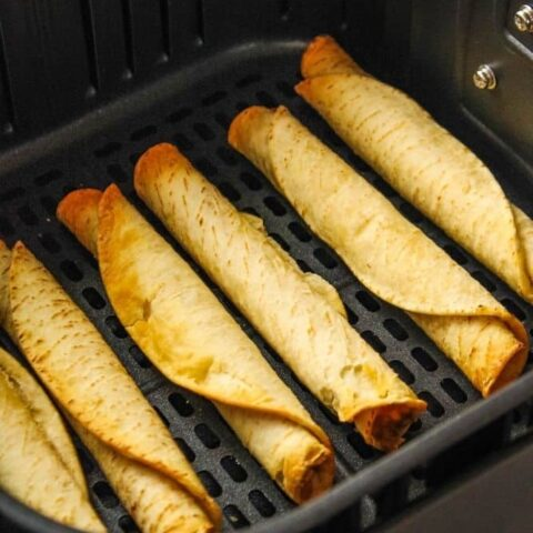 Air Fryer Taquitos Made From Frozen Everyday Family Cooking