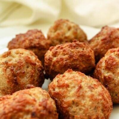 Frozen Meatballs in the Air Fryer
