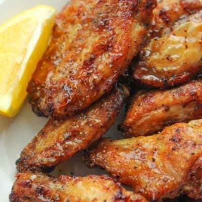 Air Fryer Lemon Pepper Wings