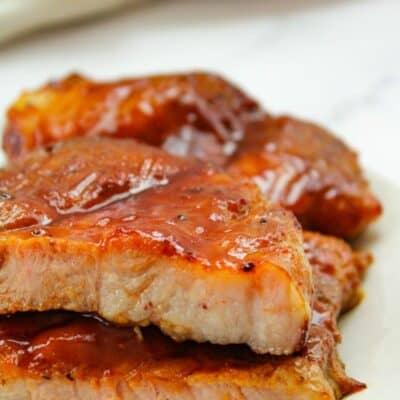 Air Fryer Pork Steaks